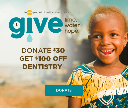 Donate $30, Get $100 Off Dentistry - Yorba Linda Smiles Dentistry and Orthodontics